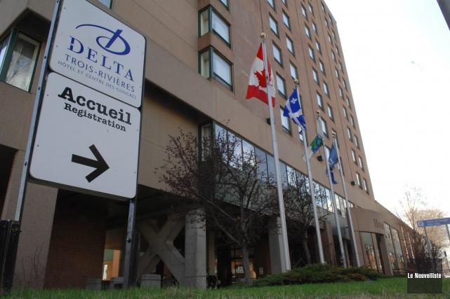Les travaux majeurs au Delta Marriott Trois-Rivières viennent... (Photo: archives Le Nouvelliste)