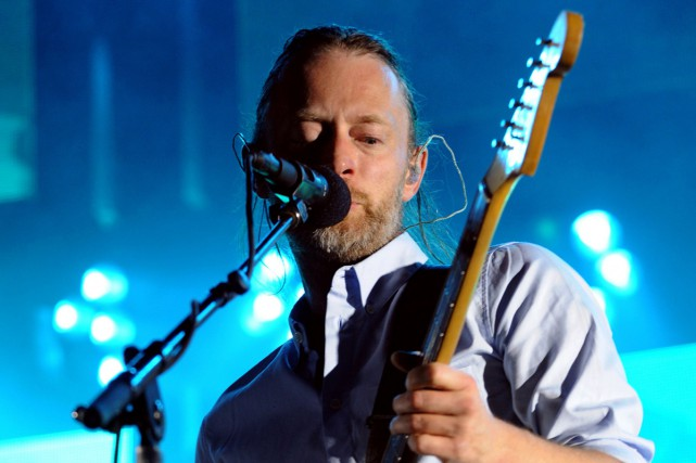 Thom Yorke... (PHOTO ARCHIVES AFP)