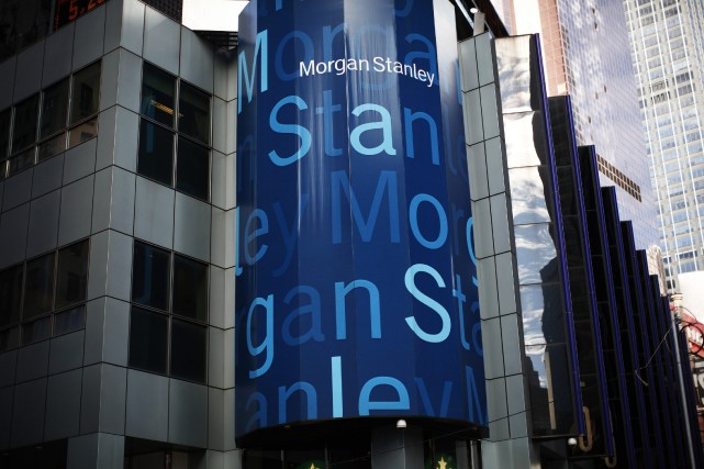La banque d'affaires américaine Morgan Stanley a annoncé mercredi des résultats... (Photo archives Reuters)