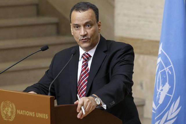 L'Envoyé spécial du Secrétaire général de l'ONU pour... (Photo Salvatore Di Nolfi, archives AP)