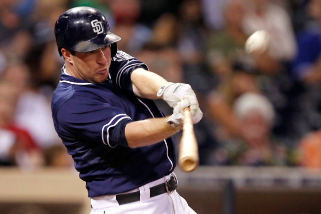 Jedd Gyorko... (Photo Alex Gallardo, archives AP)