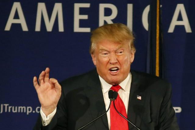 Dans un communiqué publié lundi, Donald Trump a... (Photo AP)