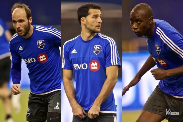 Justin Mapp, Dilly Duka et Hassoun Camara seront-ils... (Photos André Pichette, archives La Presse)