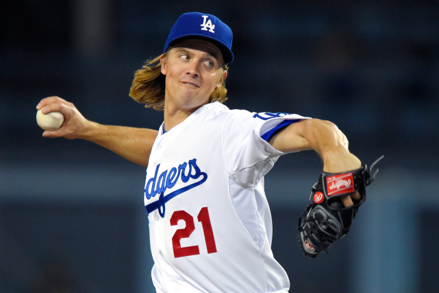 L'as lanceur Zack Greinke a signé un contrat... (Photo Mark J. Terrill, archives AP)