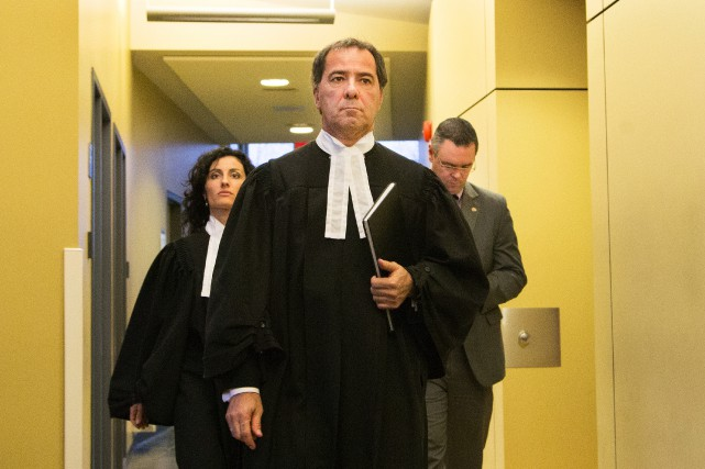 Les procureurs de la Couronne René Verret et... (PHOTO ROBERT SKINNER, LA PRESSE)