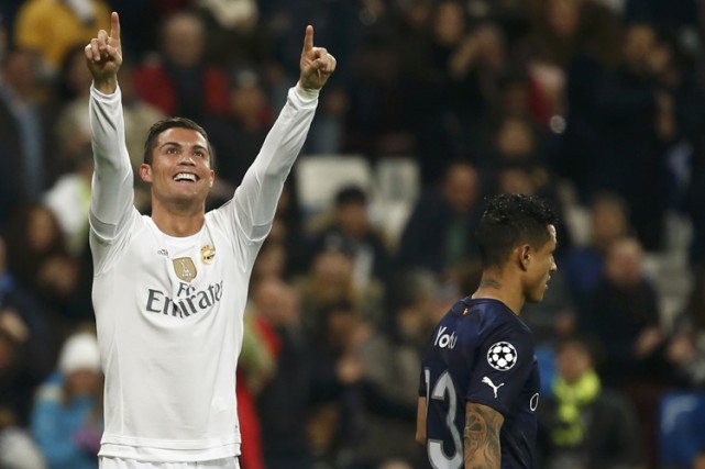 CristianoRonaldo a marqué quatre buts et en a... (PHOTO REUTERS)
