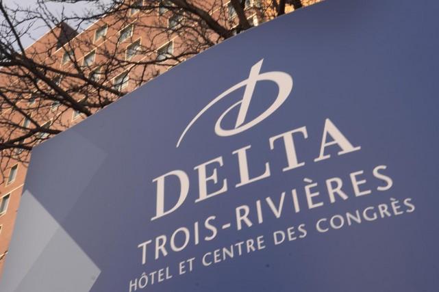 L'hôtel Delta Trois-Rivières, avec son centre des congrès,... (Sylvain Mayer)