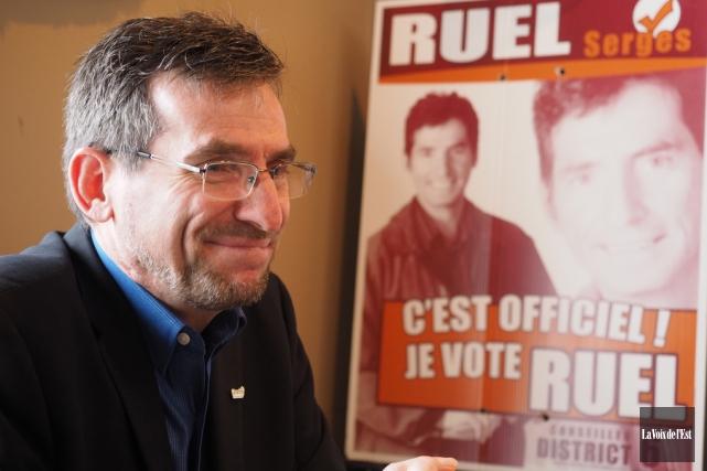 Serges Ruel... (Alain Dion, archives La Voix de l'Est)