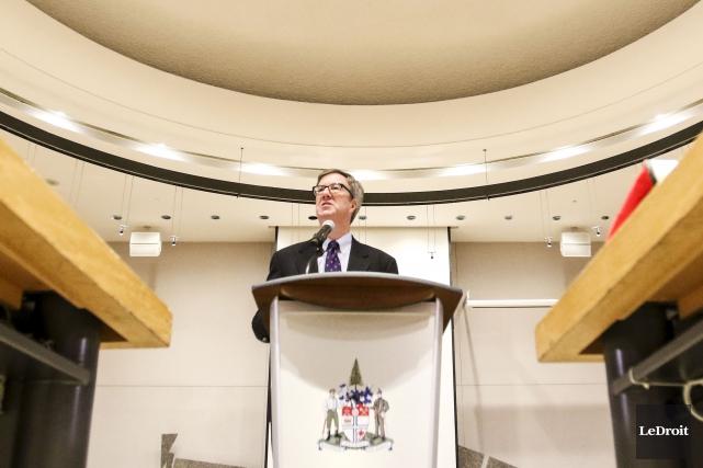 Selon le maire Jim Watson, il serait irresponsable... (Patrick Woodbury, LeDroit)
