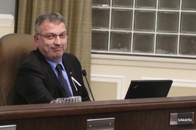 Le conseiller municipal Jocelyn Dupuis dit appuyer les... (Janick Marois, La Voix de l'Est)