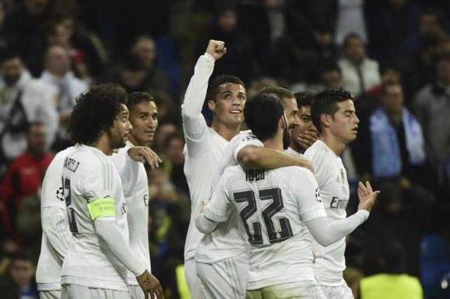 Ronaldo a marqué quatre buts et en a... (Agence France-Presse)