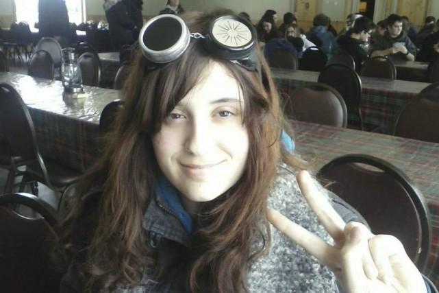 Maryse Beaulne, 17 ans, a été happée par... (Photo tirée de Facebook)