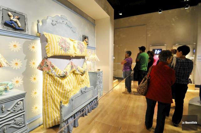 L'exposition La petite vie, créée en 2013 par... (Archives, Le Nouvelliste)