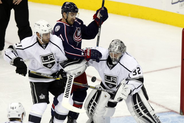 Alec Martinez a marqué à 4:33 en prolongation et les Kings de Los Angeles ont... (PHOTO AP)