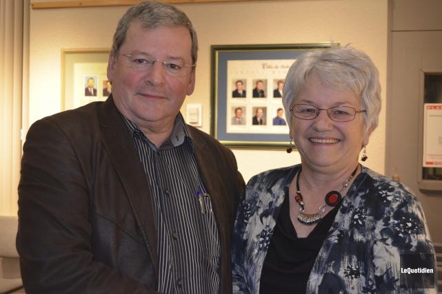 La préfète Ghislaine Hudon a rendu hommage au... (Photo Le Quotidien, Louis Potvin)