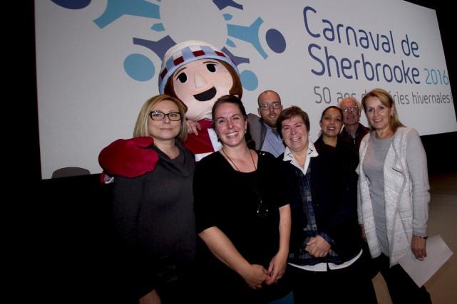 L'organisation du Carnaval de Sherbrooke a dévoilé mardi... (Spectre Média, René Marquis)