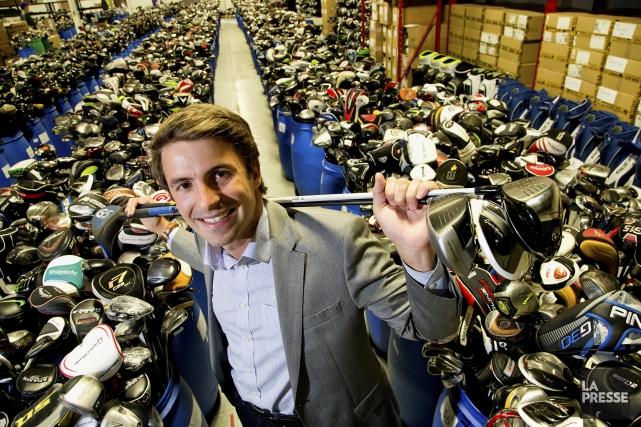 Le promoteur Pierre-LucLaparéveut aménager un terrain d'exercice de... (PHOTO ALAIN ROBERGE, ARCHIVES LA PRESSE)