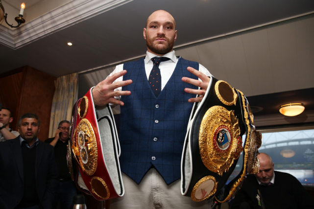 Tyson Fury... (Photo Alex Morton, Reuters)