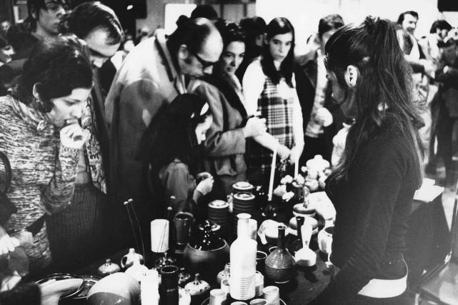En 1970, le Salon des métiers d'artemménage à... (PHOTO FOURNIE PAR LE SALON DES MÉTIERS D'ART)