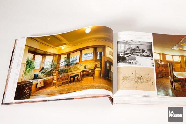 La maison de Frank Lloyd Wright, 1889, Oak... (Photo Marco Campanozzi, La Presse)