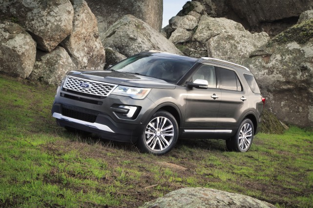 Le Ford Explorer Platinum 2016... (PHOTO FOURNIE PAR FORD)
