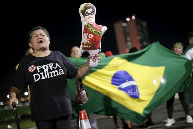 Le Brésil est aux prises avec une sévère... (Photo Ueslei Marcelino, Reuters)