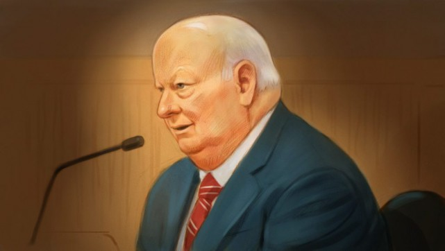 Mike Duffy... (PHOTO GREG BANNING, LA PRESSE CANADIENNE)