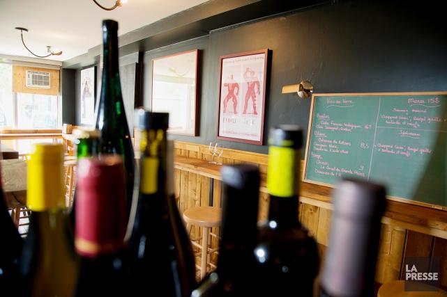 Cul-Sec propose une carte bien garnie de vins... (PHOTO ALAIN ROBERGE, ARCHIVES LA PRESSE)