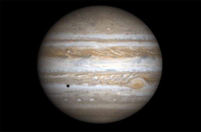 La sonde Juice est la première mission européenne... (PHOTO NASA / AFP)