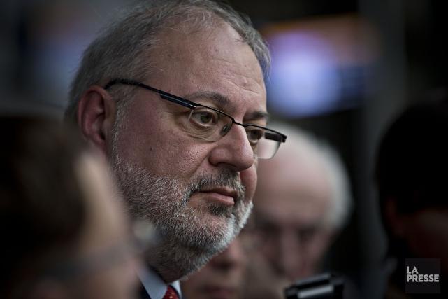Le ministre des Ressources naturelles du Québec, Pierre... (PHOTO PATRICK SANFAÇON, ARCHIVES LA PRESSE)
