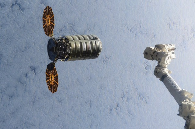 L'astronaute de la NASA Kjell Lindgren a utilisé... (Fournie par la NASA, via AP)