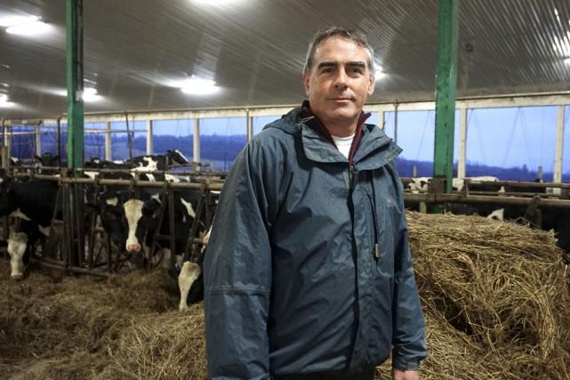 Marcel Groleau, président de l'Union des producteurs agricoles... (France Lamothe, Collaboration spéciale)