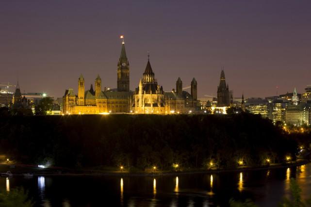 La promesse électorale des libéraux de hausser le taux d'imposition des... (Photo archives Bloomberg)
