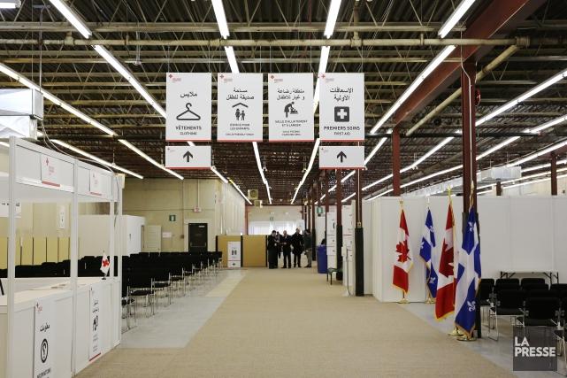 L'aéroport de Montréal a étémis en place pour... (Archives La Presse)