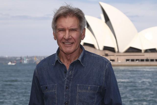 Harrison Ford est aujourd'hui âgé de 73 ans.... (AP, Rob Griffith)