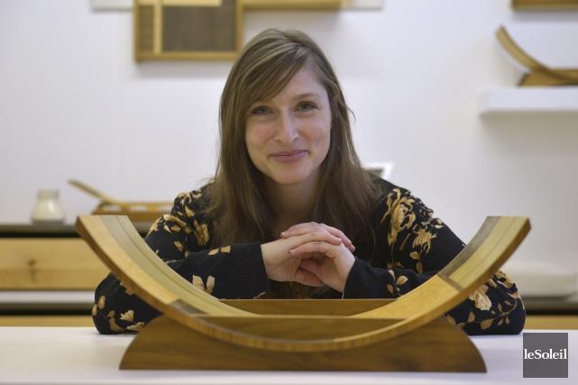 L'ébéniste Geneviève Gaboury a fondé Indigène, qui loge... (Le Soleil, Yan Doublet)
