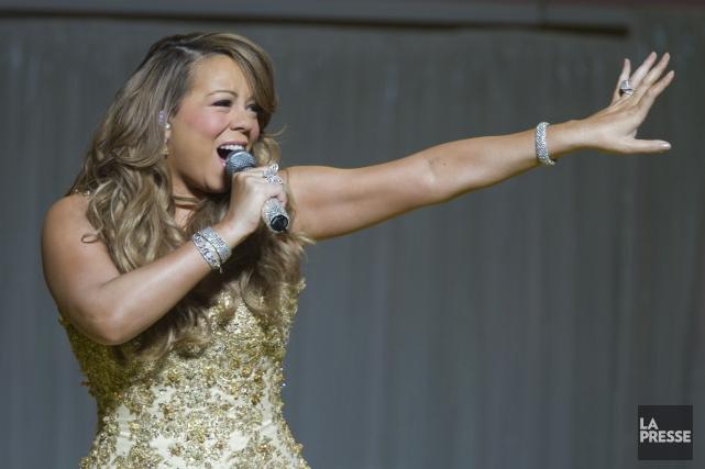La présence de grandes voix comme Mariah Carey... (Archives La Presse)