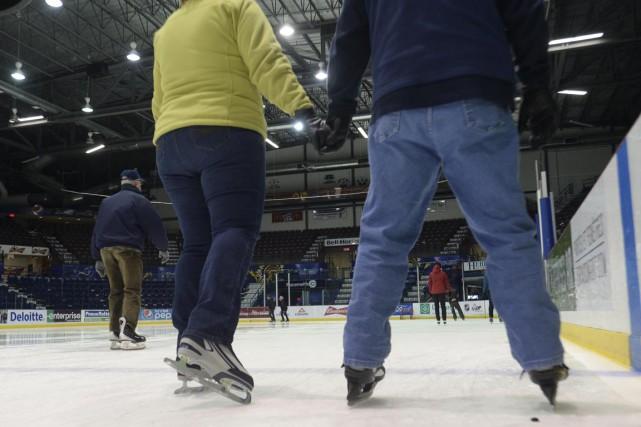 Le patinage libre à Shawinigan coûtera dorénavant beaucoup... (Sylvain Mayer)