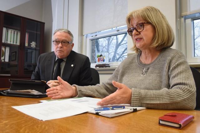 La Commission scolaire du Chemin-du-Roy a déposé son... (François Gervais)