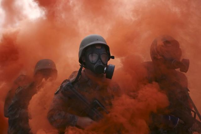 Le Pentagone va développer deux prototypes de machines à détruire les armes... (PHOTO REUTERS)