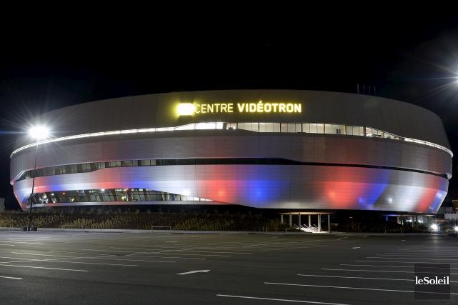 Le Centre Vidéotron... (Le Soleil, Erick Labbé)