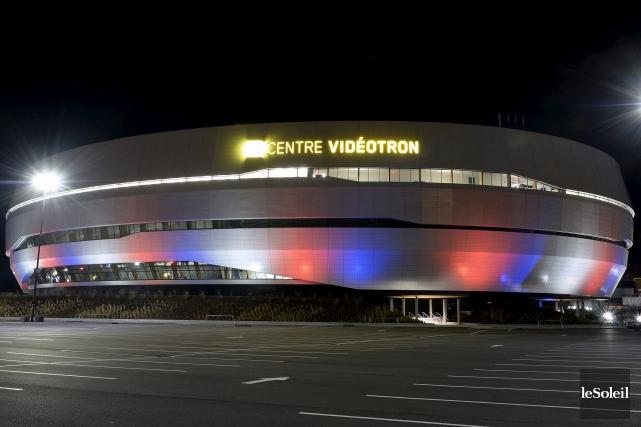 L'amphithéâtre multifonctionnel de Québec, qui a demandé 370... (Le Soleil, Erick Labbé)