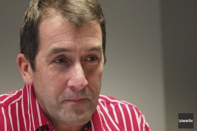 Le président de Val-des-Cerfs, Paul Sarrazin, s'inquiète de... (Alain Dion, La Voix de l'Est)