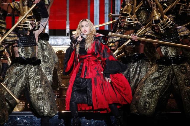 Madonna était en concert à Paris, dans le... (AFP, François Guillot)