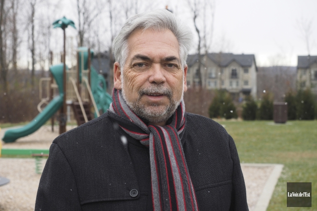 Le candidat au poste de conseiller municipal dans... (Alain Dion, Archives La Voix de l'Est)
