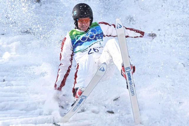 Veronika Bauer lors des Jeux olympiques de Vancouver... (La Presse Canadienne, Tara Walton)