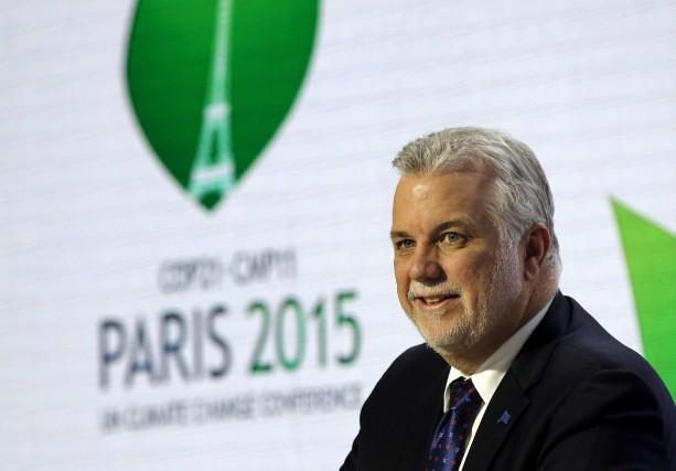 Philippe Couillardà la COP21, la Conférence des Nations... (Photothèque Le Soleil)