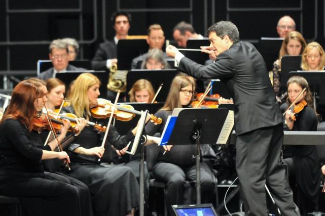 L'Orchestre symphonique de Trois-Rivières.... (Émilie O'Connor)