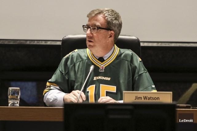 Jim Watson évoque le contexte économique morose pour... (Patrick Woodbury, LeDroit)