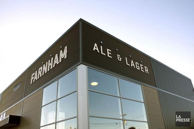 La microbrasserie de Farnham est la première du... (Fournie par Farnham Ale & Lager)
